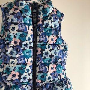 Gymboree vest for girls